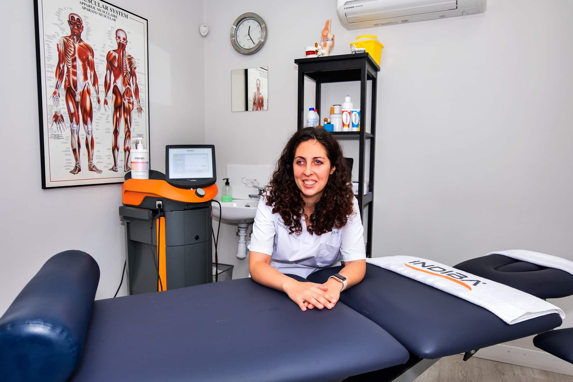 Verónica Barrios Fisioterapeuta experta en terapia manual osteopática